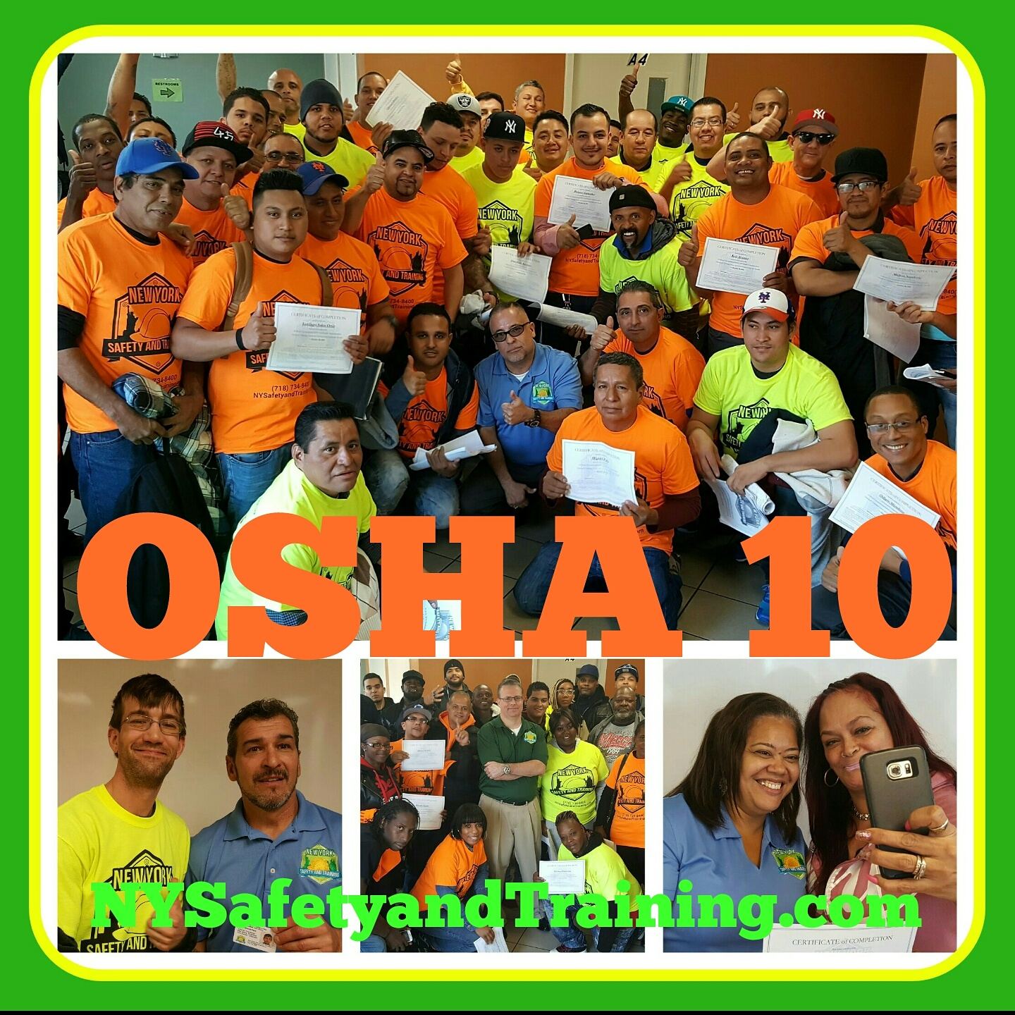Osha 10 Hour Construction Safety And Health New York Safety And